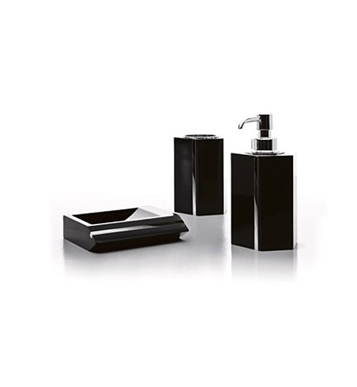 Nameeks A00200-14 Toscanaluce Bathroom Accessory Set With Finish: Black