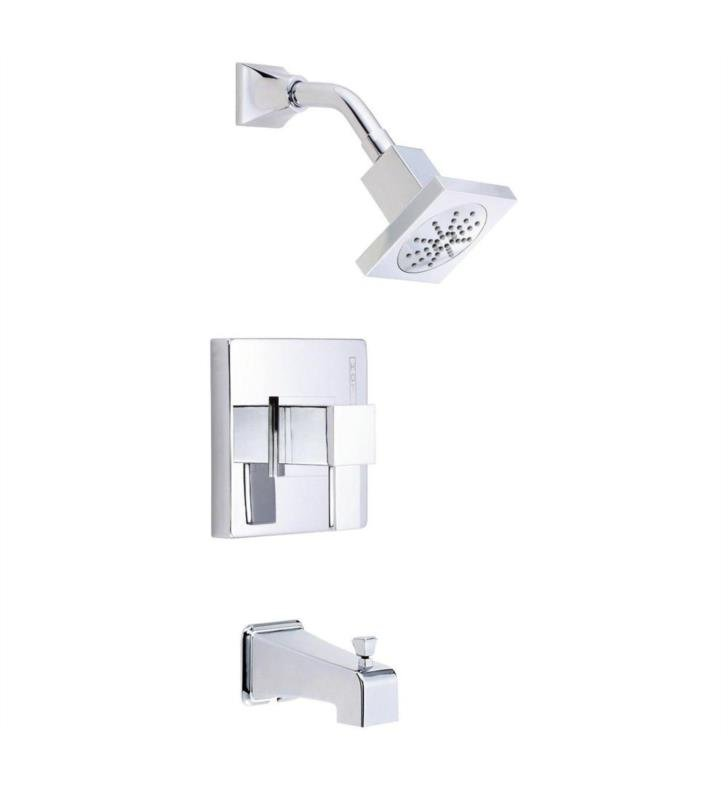 Danze D500033BNT Reef Trim Only Single Handle Pressure Balance Tub and Shower Faucet With Finish: Brushed Nickel