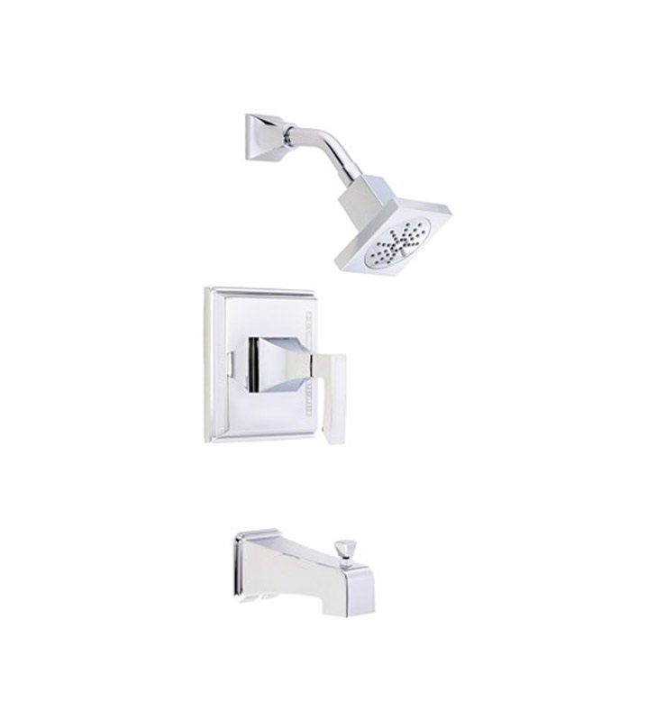 Danze D502036T Logan Square™ Tub and Shower Trim Kit in Chrome