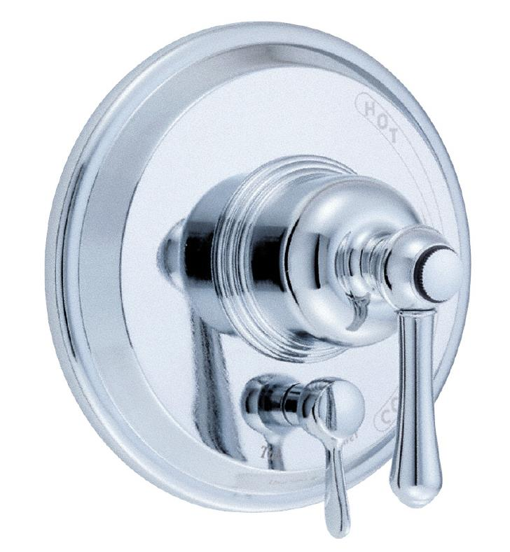"Danze D500457BNT Opulence 7 1/4"" Pressure Balance Valve with Diverter Trim Kit With Finish: Brushed Nickel"