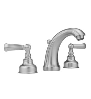 "Jaclo 5840-T637-PEW Jaylen 4 7/8"" Widespread Ribbon Lever Handle Bathroom Sink Faucet with Standard Drain With Finish: Pewter And Flow Rate: 1.5 GPM"