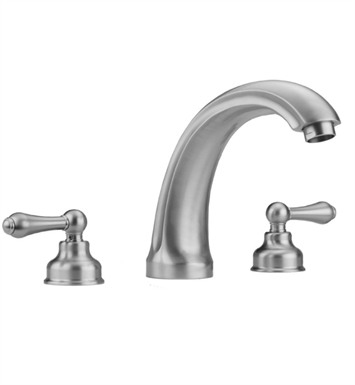 Jaclo 6940-T636-TRIM-SDB Jaylen Roman Tub Faucet with Traditional Lever Handles With Finish: Sedona Beige