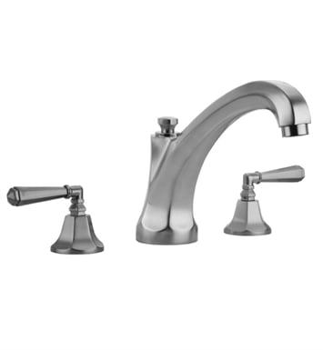 Jaclo 6972-T685-TRIM-JG Astor High Spout Roman Tub Faucet with Hex Lever Handles With Finish: Jewelers Gold
