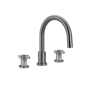 Jaclo 9980-C-TRIM-CB Contempo Roman Tub Faucet with Cross Handles With Finish: Caramel Bronze