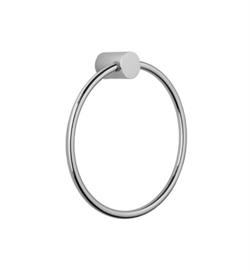 Jaclo 3501-TR-PCH Contempo II Towel Ring With Finish: Polished Chrome