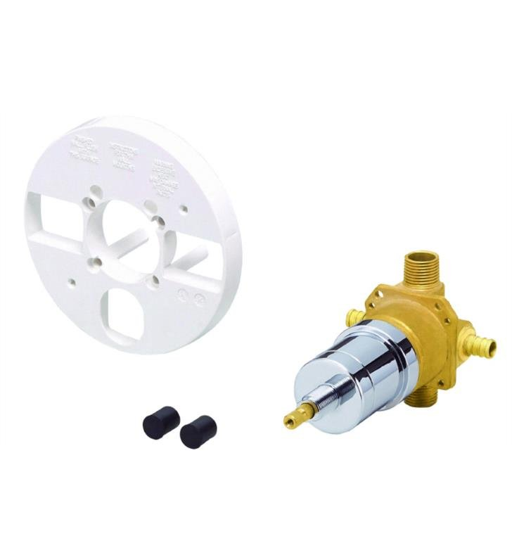 "Danze D115010BT 3 5/8"" Single Control Pressure Balance Mixing Valve without Screwdriver Stops"