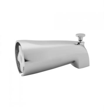 "Jaclo 2042-SB 5 1/2"" Wall Mount Tub Spout with Diverter With Finish: Satin Brass"