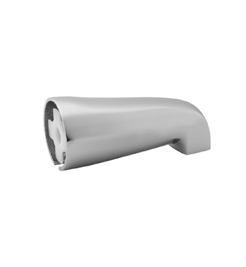 Jaclo 2043-PCH Over The Rim Decorative Tub Spout With Finish: Polished Chrome