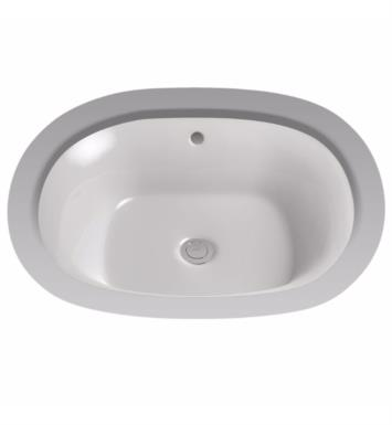 "TOTO LT483G#11 Maris 20"" Vitreous China Oval Undercounter Lavatory Sink With Finish: Colonial White with CeFiONtect Ceramic Glaze"