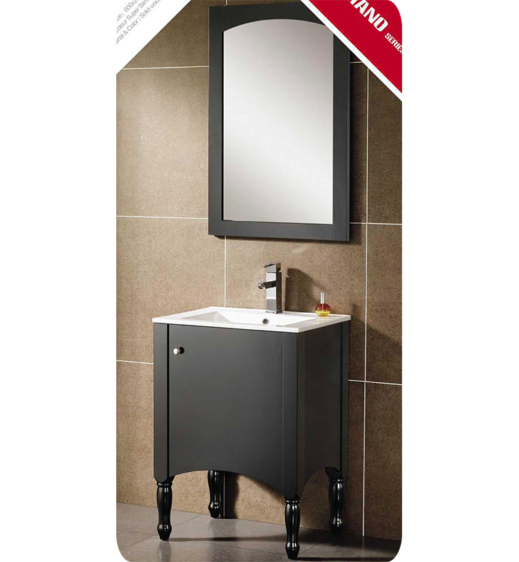 Fresca FVN8225BL Decor Planet Exclusive Modern Bathroom Vanity with Mirror and Faucet