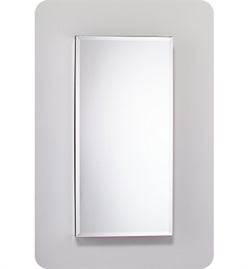 "Robern MC2040D8FPRE2 M Series 19 1/4"" Wide x 8"" Deep Customizable Cabinet With Cabinet Hinge: Right And Style and Color: Flat Cabinet Top with Plain Mirrored Door And Electrical / Lighting / Audio Option: Electrical outlet with Interior Light"