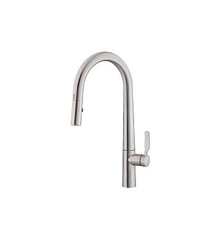 Danze D423507SS Did-U-Wave Single Handle Electronic Kitchen Faucet in Stainless Steel