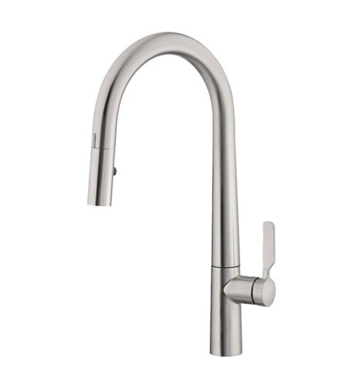 Danze D423607SS Did-U-Wave Single Handle Electronic Kitchen Pull Down Faucet in Stainless Steel