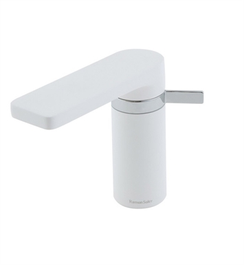 Nameeks US-2601-WCR Ramon Bathroom Sink Faucet in White and Chrome