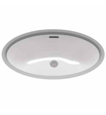 "TOTO LT548G#12 23 5/8"" Vitreous China Oval Undercounter Lavatory Sink With Finish: Sedona Beige with CeFiONtect Ceramic Glaze"