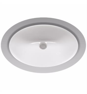 "TOTO LT579 Rendezvous 19 1/4"" Vitreous China Oval Undercounter Lavatory Sink"