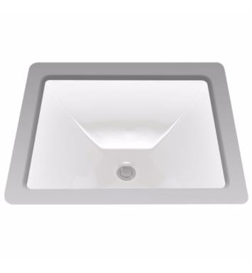 "TOTO LT624 Legato 19"" Vitreous China Rectangular Undercounter Lavatory Sink"