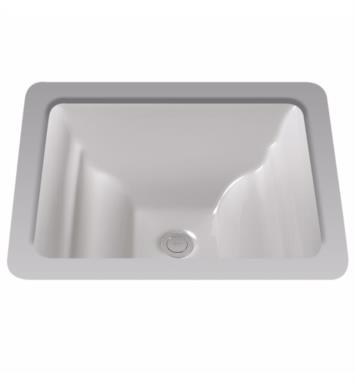 "TOTO LT626G#11 Aimes 19"" Vitreous China Rectangular Undercounter Lavatory Sink With Finish: Colonial White with CeFiONtect Ceramic Glaze"