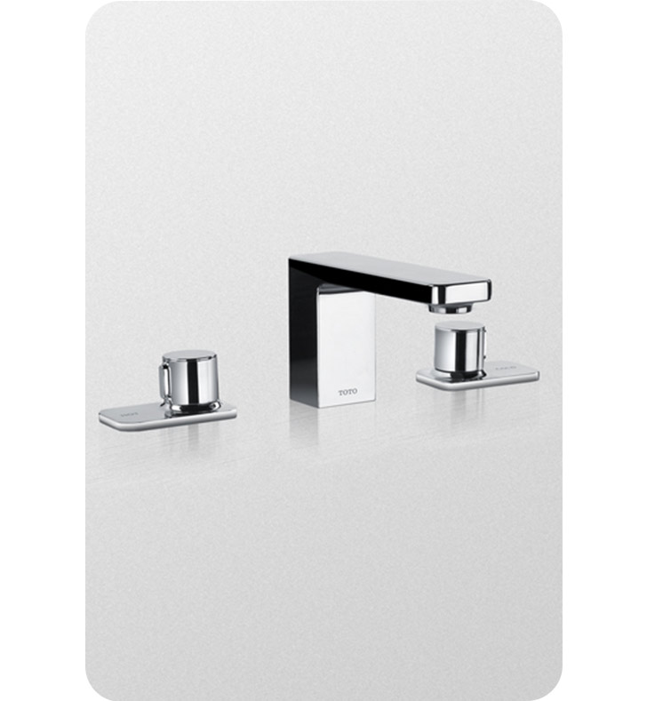 TOTO TL170DDLQ#CP Kiwami® Renesse® Widespread Lavatory Faucet, with Pop-up Drain With Finish: Polished Chrome