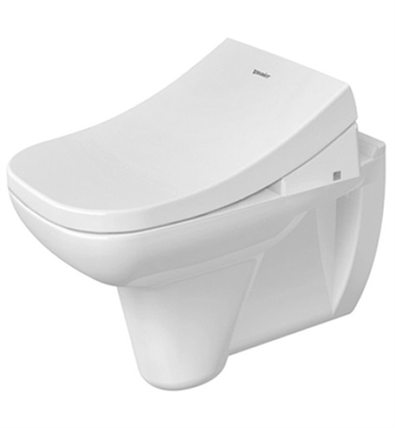 Duravit 22230900922 D-Code Elongated Wall Mounted Toilet