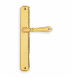 Omnia 13752 Customizable Narrow Plate Latchset with Lever Handle