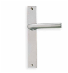Omnia 17368 Customizable Narrow Plate Latchset with Lever Handle
