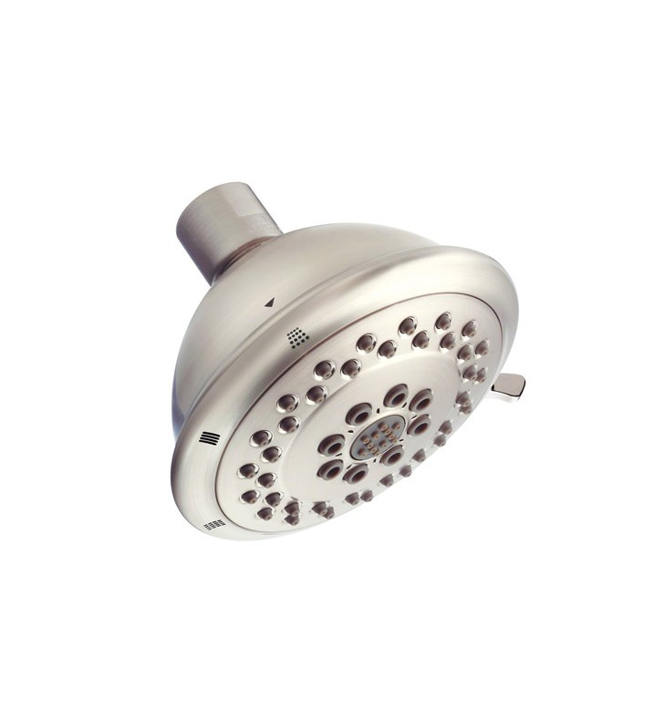 "Danze D460047BN Boost™ 4"" Three-Function Showerhead in Brushed Nickel"