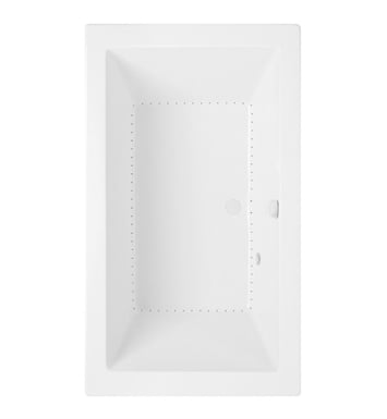 Aquatic AI22AIR6636CDB-WH Estate Serenity Two-Person Drift Bathtub With Tub Color: White