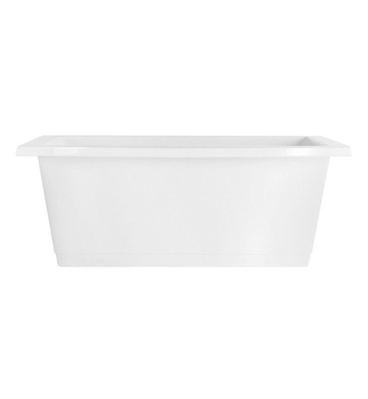 Aquatic AI23AIR7242F-BI Estate Serenity Two-Person Freestanding Air Bathtub With Tub Color: Biscuit