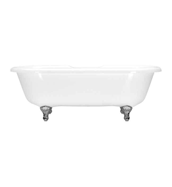 Aquatic AIY6717TO Estate Serenity Freestanding Two-Person Soaker Bathtub