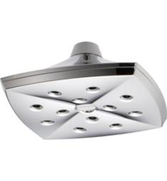 "Brizo 81385 Charlotte 8 1/4"" Ceiling Mount Raincan Showerhead with H2Okinetic Technology"