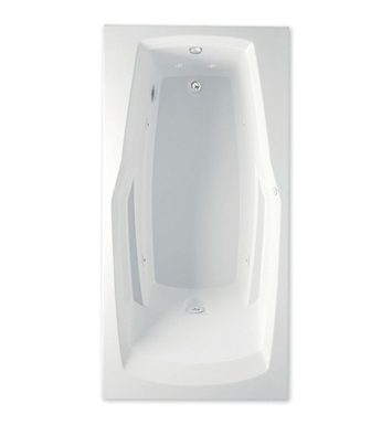 Aquatic 4360531-WH Builders' Choice Ascot Whirlpool Bathtub With Tub Color: White