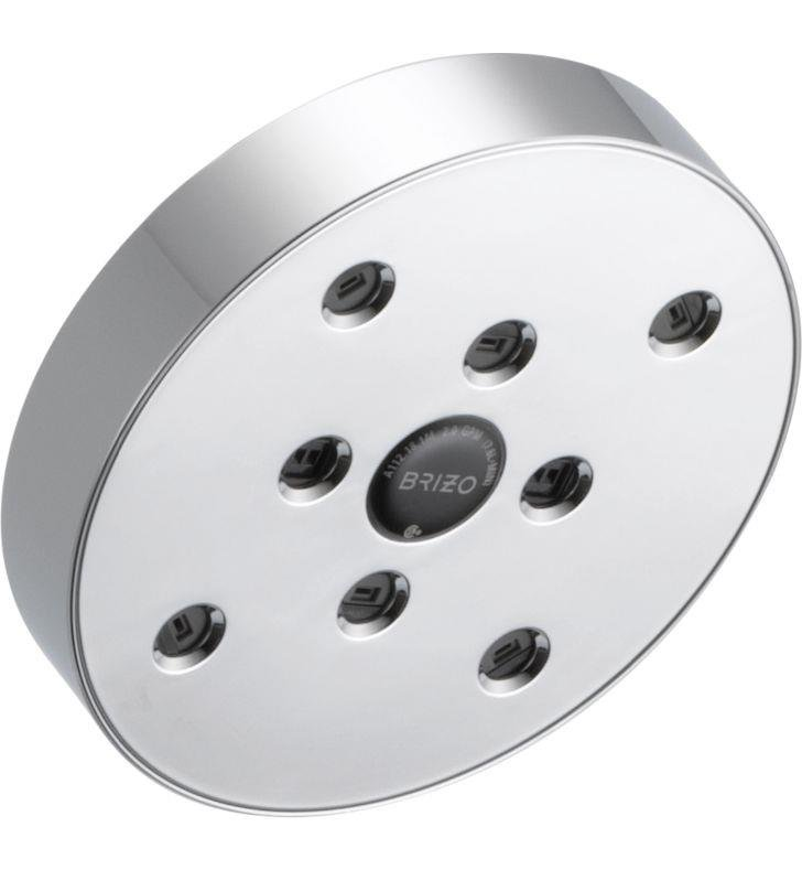 Brizo 87375-BN Odin Raincan Showerhead With H2Okinetic Technology With Finish: Brushed Nickel