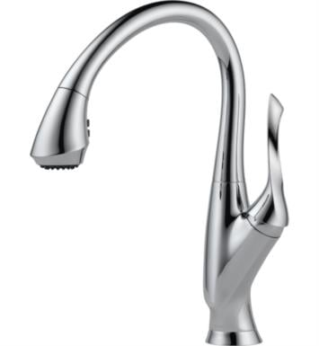 Brizo 63052LF-PC Belo Single Handle Pull-Down Kitchen Faucet With Finish: Chrome