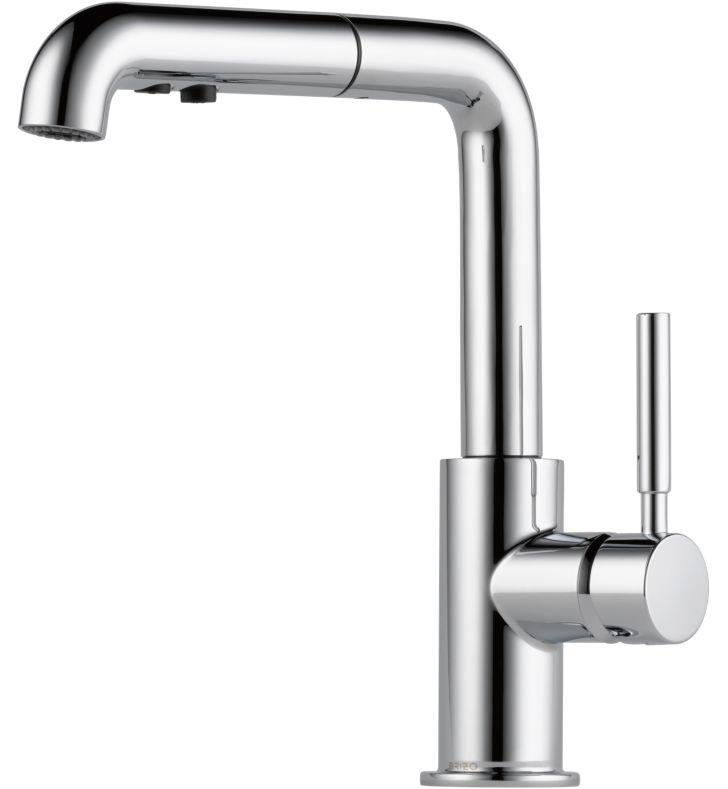 Brizo 63220LF-PC Solna Single Handle Pull-Out Kitchen Faucet With Finish: Chrome