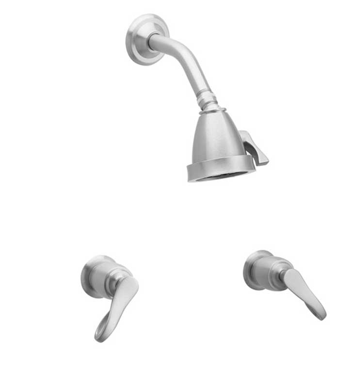 Phylrich K3104-071 Amphora Shower Set With Finish: Polished Nickel with Polished Brass