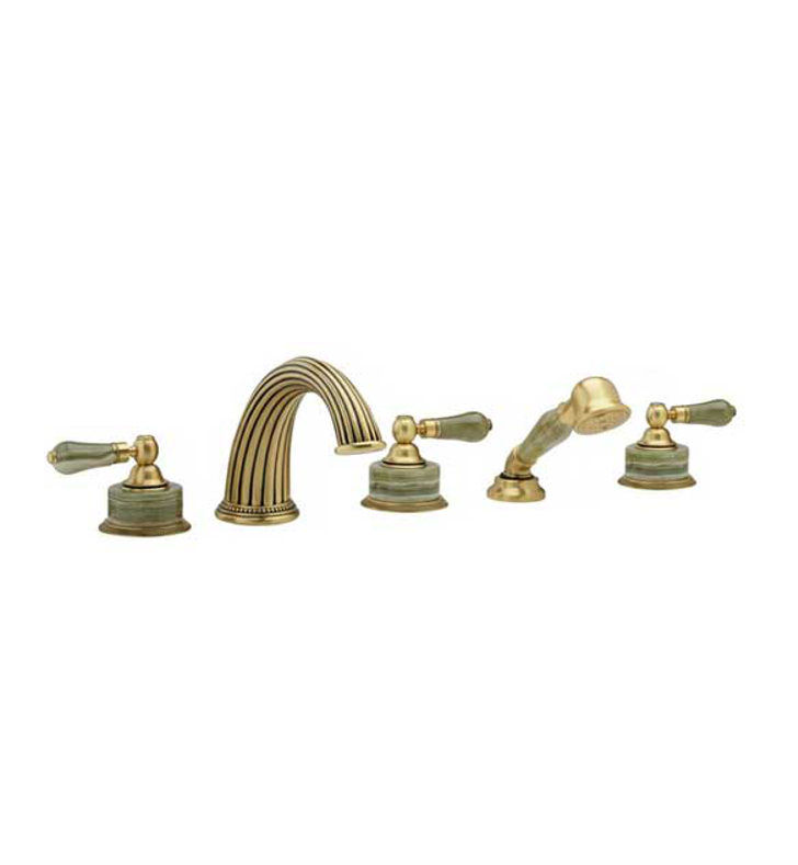 Phylrich K2270P1-015G Regent Kitchen Deck Set with Hand Shower With Finish: Gunmetal Gray