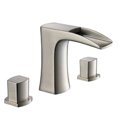 Fresca FFT3076BN Fortore Widespread Mount Bathroom Faucet in Brushed Nickel