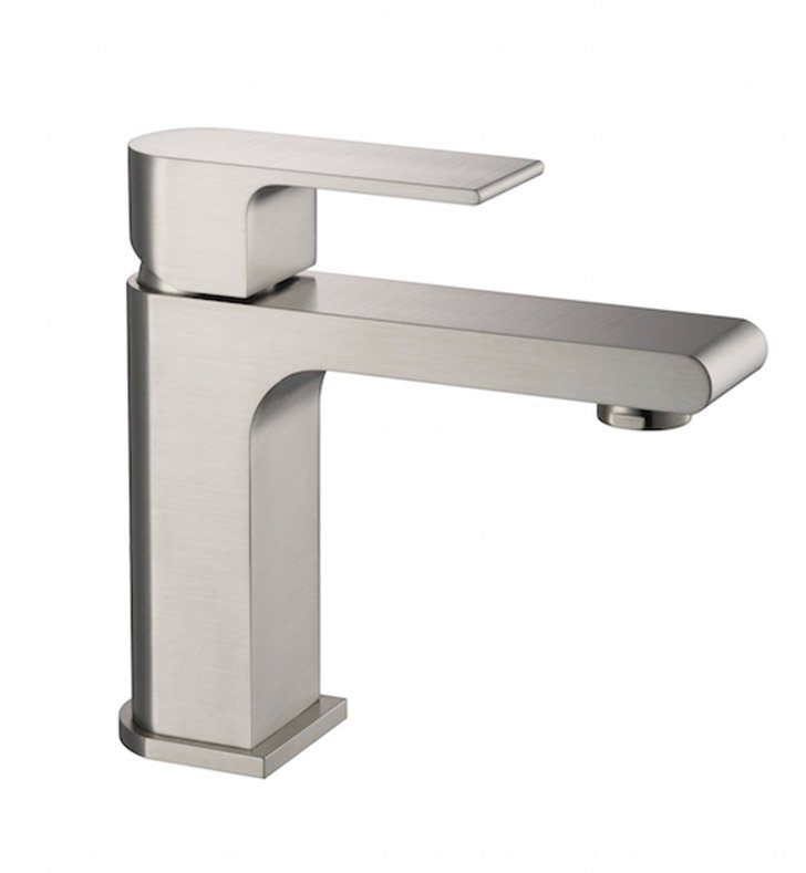 Fresca FFT9151BN Allaro Single Hole Mount Bathroom Faucet in Brushed Nickel