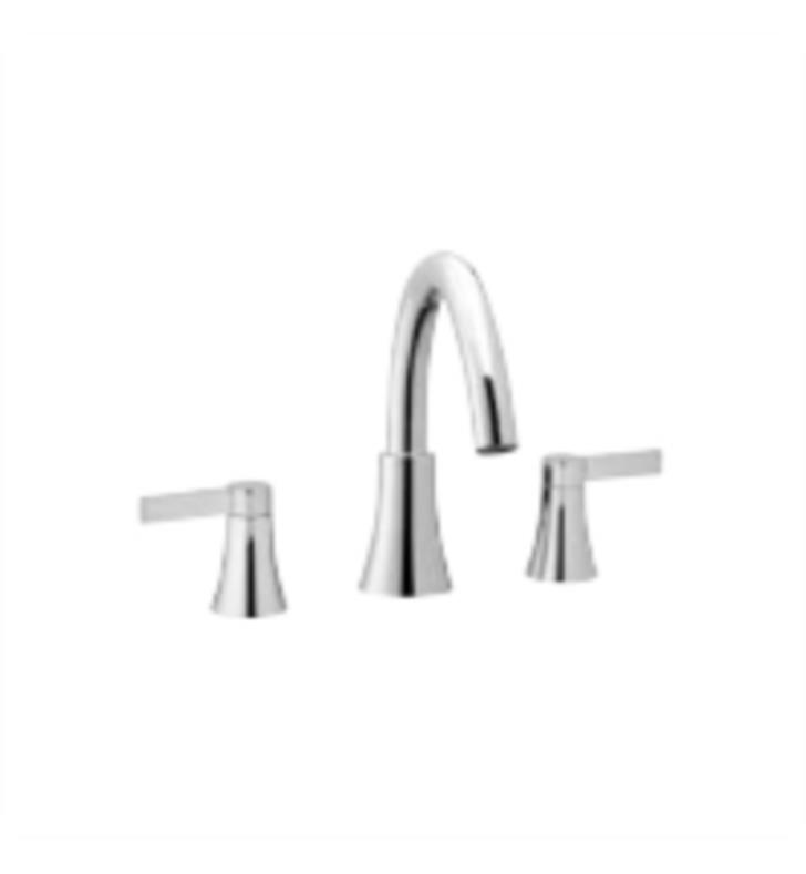 "Phylrich K1811L-050 Fillmore 8 3/4"" Two Lever Handle Widespread/Deck Mounted Roman Tub Faucet With Finish: Satin White"