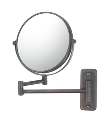 Aptations 21145 Double Arm Wall Mirror from the Mirror Image Collection With Finish: Chrome