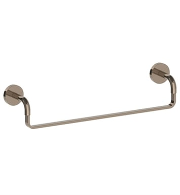 "Watermark 26-0.1-PG Brooklyn 18"" Towel Bar With Finish: Polished Gold (24k) <strong>(USUALLY SHIPS IN 8-9 WEEKS)</strong>"