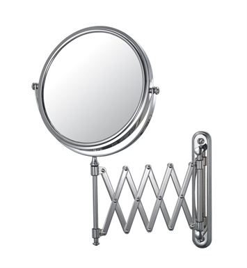 Aptations 233135 Extension Arm Wall Mirror from the Mirror Image Collection With Finish: Brushed Brass