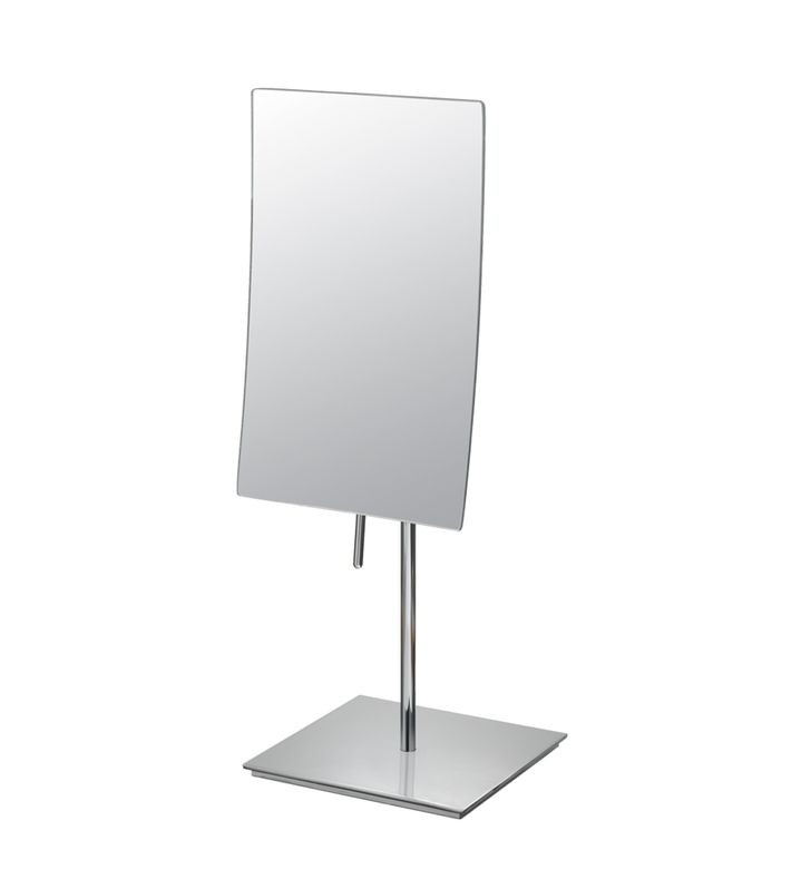 Aptations 822 Single-Sided Minimalist Free-Standing Rectangular Mirror from the Mirror Image Collection