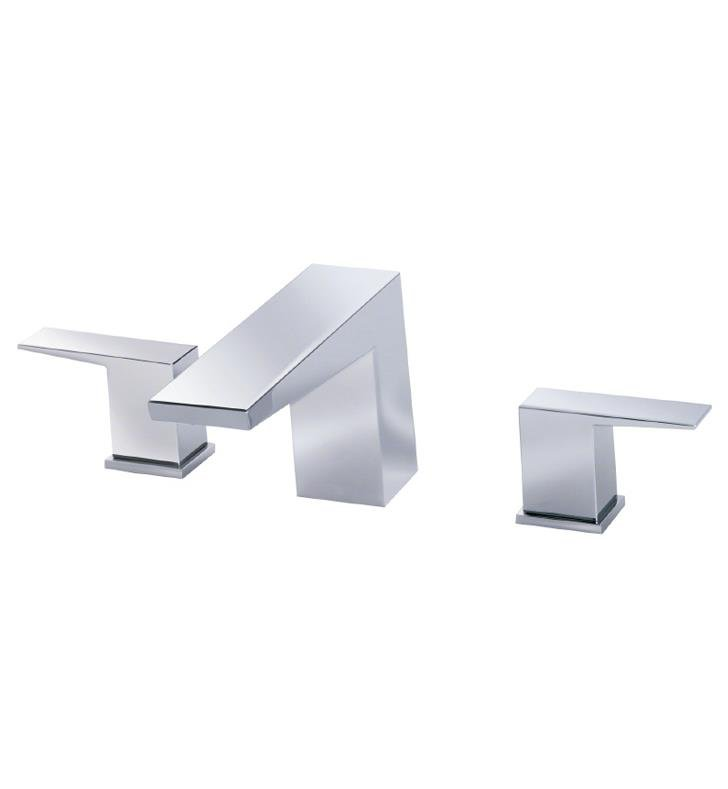 "Danze D300962BNT Mid-town 10 3/4"" Two Handle Deck Mounted Roman Tub Faucet Trim Kit With Finish: Brushed Nickel"