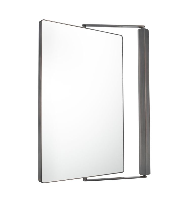 Aptations 330 Sergena Non-Lighted Metro Pivot Wall Mirror