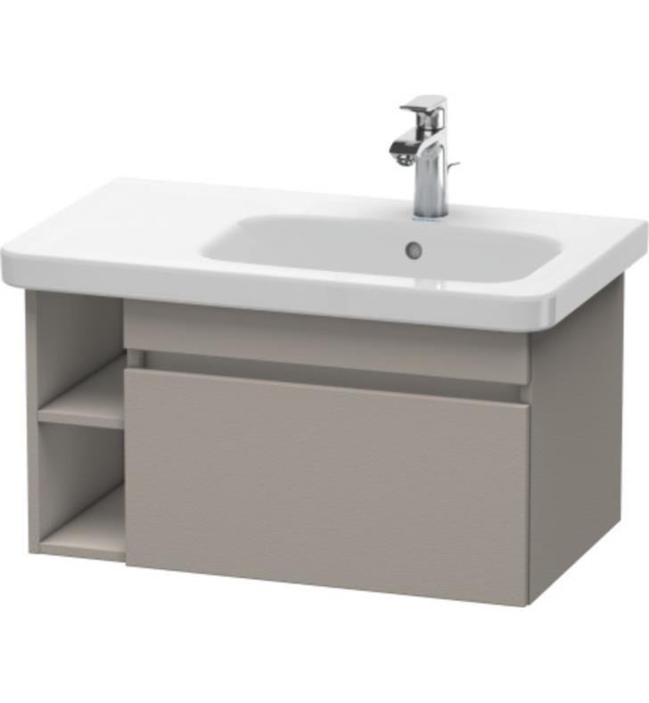 "Duravit DS6393 DuraStyle 28 3/4"" Wall Mount Single Bathroom Vanity with One Drawer"