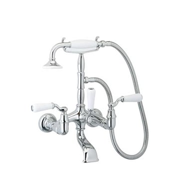 Phylrich K2393-015 Old Tyme Wall Mounted Tub & Shower Set With Finish: Satin Nickel