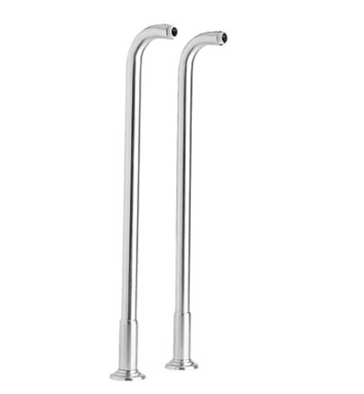 "Phylrich K2390XFR36-026 36"" Floor Risers With Finish: Polished Chrome"