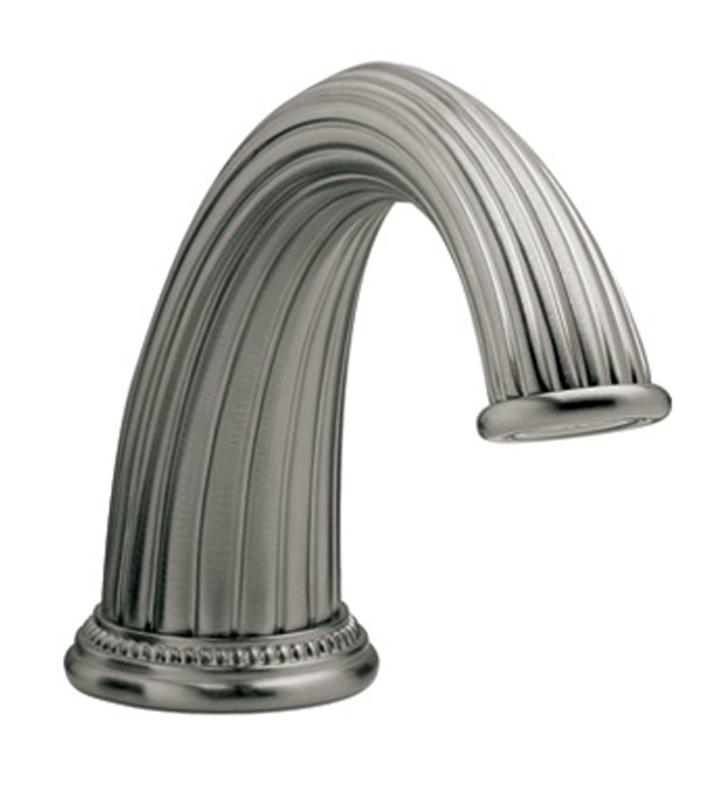 "Phylrich K5141-25D Georgian and Barcelona 12"" Traditional Deck Mount Tub Spout Only With Finish: Polished Gold Antiqued"
